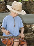 boy-weaving
